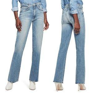 MOTHER Desperado High Waist Frayed Jeans